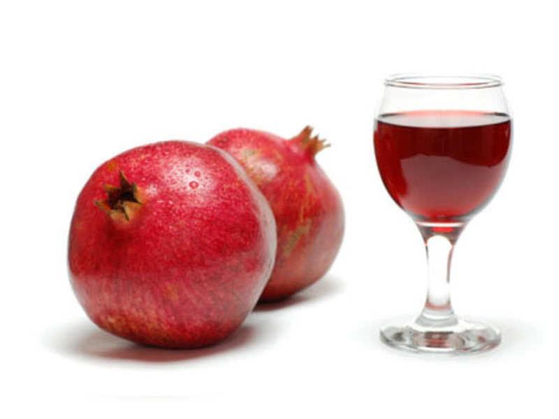 Viagra, move over. Pomegranate's here