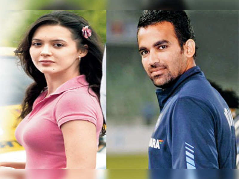 "Isha Sharvani and Zaheer Khan <a href=""http://photogallery.indiatimes.com/celebs/indian-stars/isha-sharwani/articleshow/4484815.cms"" target=""_blank"">More Pics</a>"