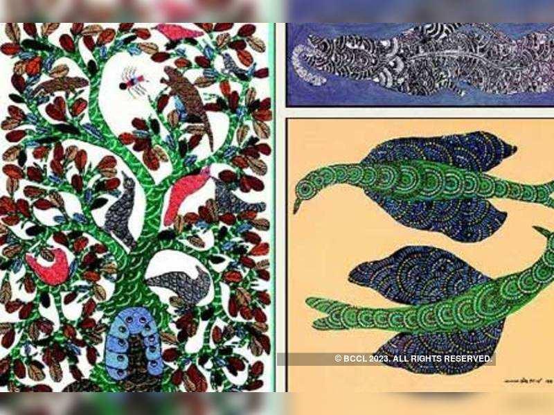 Gond artist star at tribal art auction