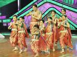 On the sets: 'Dance Ke Superkids'