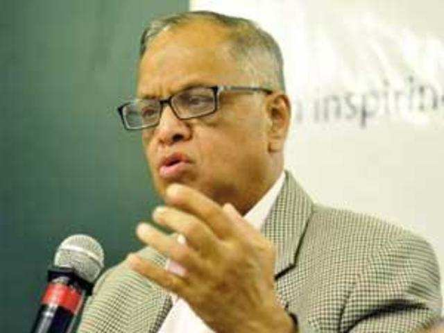 """We have fallen far short of expectations and it's no longer possible to sell the India story,"""" said NR Narayana Murthy, chairman emeritus, Infosys."""