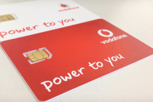 Vodafone UK posted a picture of the nano-sims in a post on its blog and said that it has stocked as many as 500,000 of these for the iPhone 5. (Image courtesy: CNET)