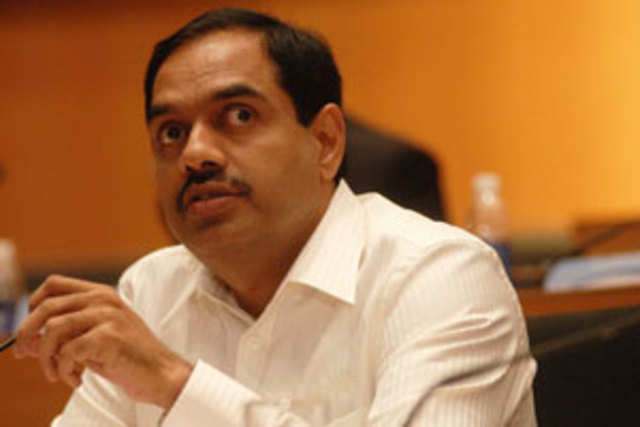 Infosys Chief Financial Officer V Balakrishnan will step down from his position on October 31.