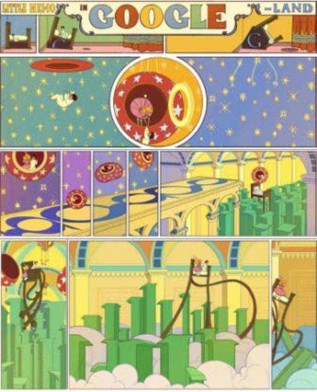 Google celebrates 107th anniversary of Winsor Zenic McCay's Little Nemo in Slumberland