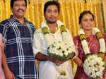 Vineeth, Divya wedding ceremony