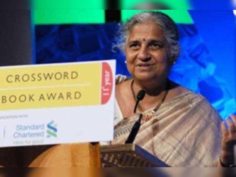 I don't lend my books: Sudha Murthy
