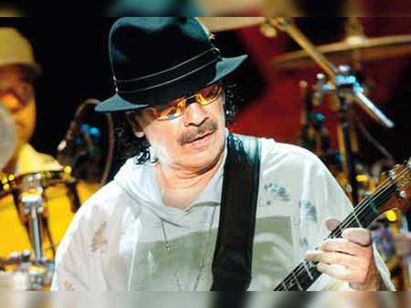 I like hot music and hot food: Carlos Santana