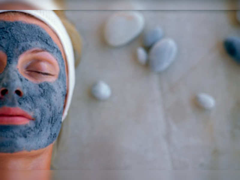 Get a clay mask for glowing skin