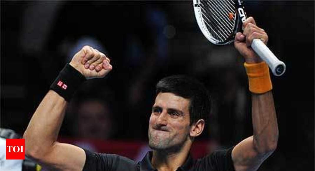Djokovic Scores Over Tsonga At O2 Arena Tennis News Times Of India