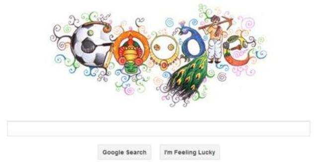 Today Google has displayed a colourful and creative Doodle 4 Google India 2012 on its homepage.