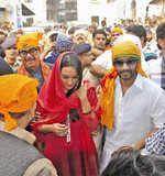 Sonakshi, Ajay in Patna