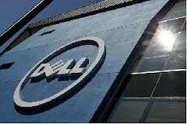 Computer maker Dell on Friday reported 47 per cent drop in net profit to USD 475 million for the August-October quarter of this fiscal , mainly on lower PC sales and weak demand from large enterprises.