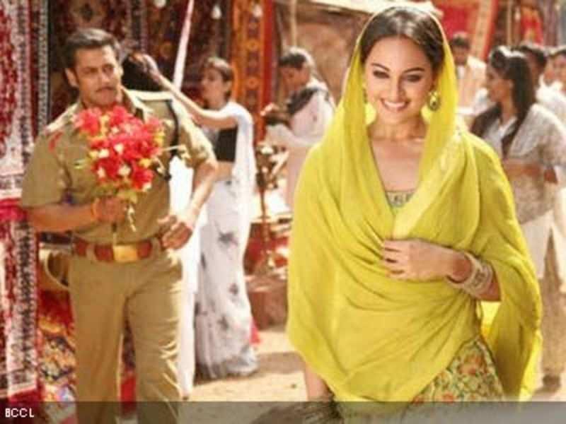 Dabangg 2 Salman Sonakshi To Shoot A Song In Dubai Hindi Movie News Times Of India