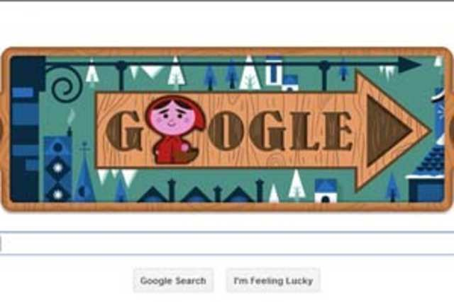 Google has marked the 200th anniversary of Grimm's Fairy Tales, which include classics like Cinderella, Rapunzel and Hansel and Gretel, with a doodle spread across 22 slides.