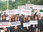 Fashion frat's silent march against rape