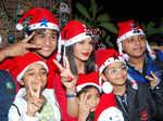 Rakhi celebrates Christmas!