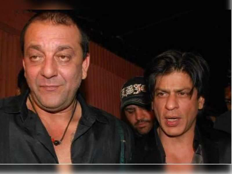 "Sanjay Dutt and Shah Rukh Khan<a href=""http://photogallery.indiatimes.com/parties/mumbai/Stars-at-Sanjay-Dutts-bash/articleshow/11682691.cms"" target=""_blank"">More Pics</a>"
