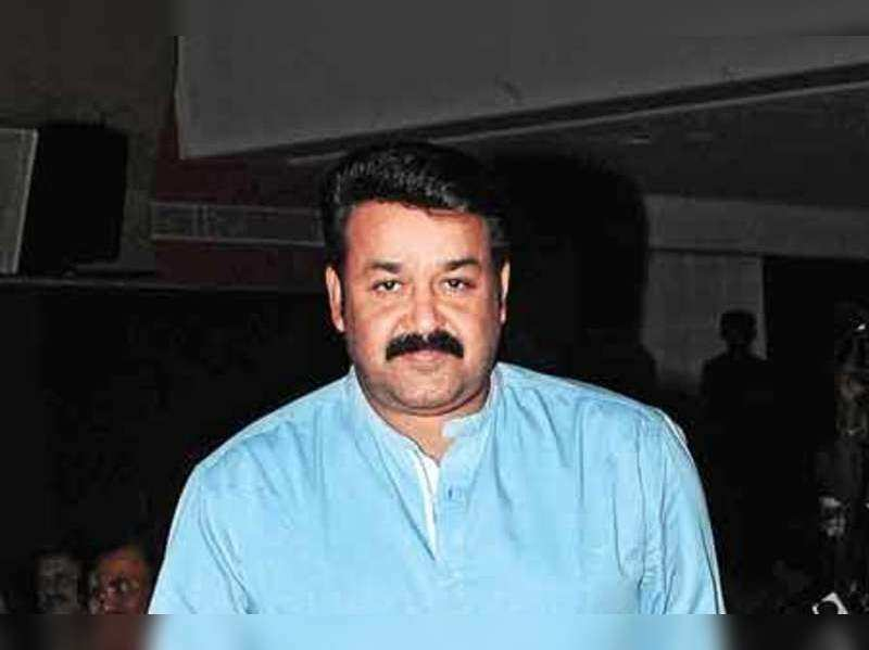 Mohanlal at the music launch of Nikhil Menon's directorial debut in Kochi