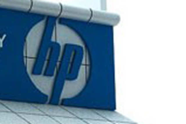 Hewlett-Packard said it's evaluating the possible disposition of businesses that don't meet goal.
