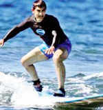 Aamir surfs on his Thailand vacation!