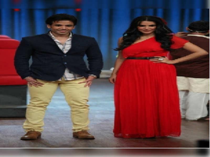 Nautanki owners Neha Dhupia and Tusshar Kapoor