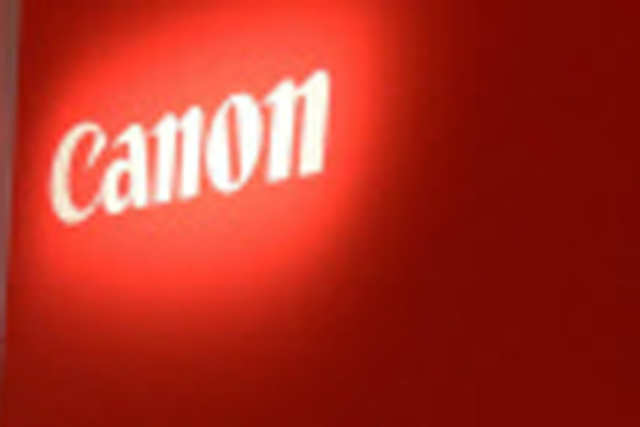Canon said it is now focusing more on middle and high-end cameras amid smartphones with high resolution imaging capabilities eating into sales of compact cameras.