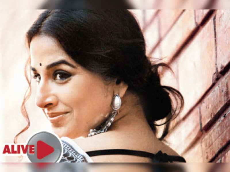 I wanted to be junior Madhuri: Vidya Balan
