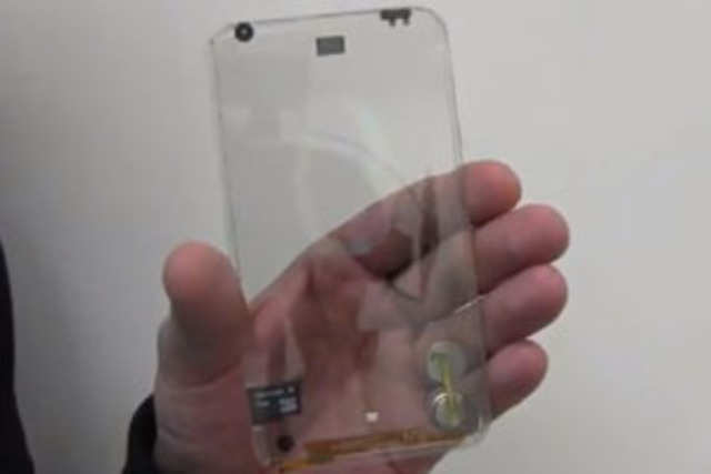 If Taiwan-based Polytron has its way, we will soon be holding a transparent smartphone.