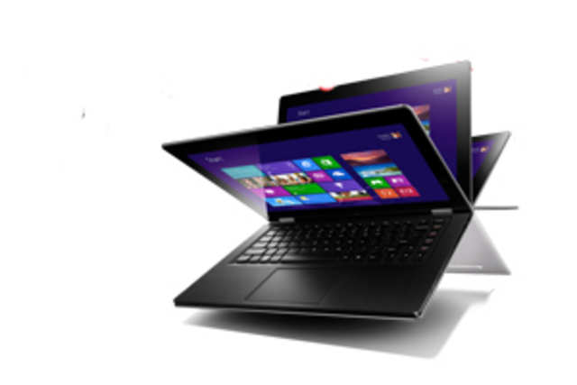 The Lenovo IdeaPad Yoga is quite innovative with its ability to flip back its screen by a full 360 degrees, letting you use it as a tablet.