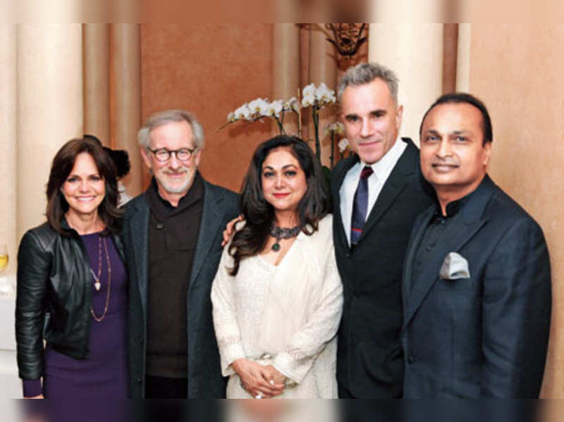 Tina and Anil Ambani at the Oscars