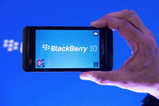 BlackBerry Z10 launched in India
