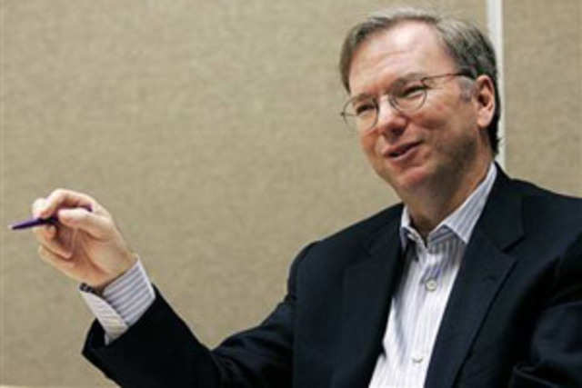 Google executive chairman Eric Schmidt made a pitstop in Bangalore, part of an Asian itinerary that includes the much publicised visit to Myanmar.