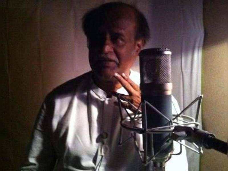 Rajinikanth dubs in a jiffy for Kochadaiyaan
