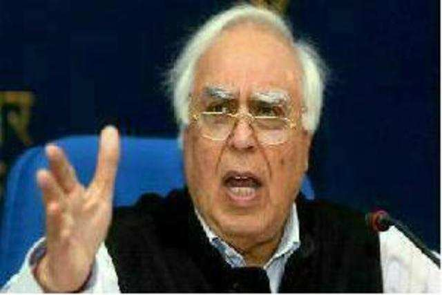 Kapil Sibal took on the Supreme Court, saying the intervention of the apex court had led to massive de-growth of the telecom sector.