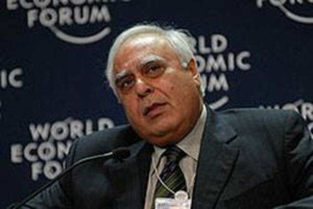 """Telecom Minister Kapil Sibal said the """"golden goose"""" of telecom sector will not lay the golden egg """"for a little while"""", thanks to the Supreme Court judgement."""