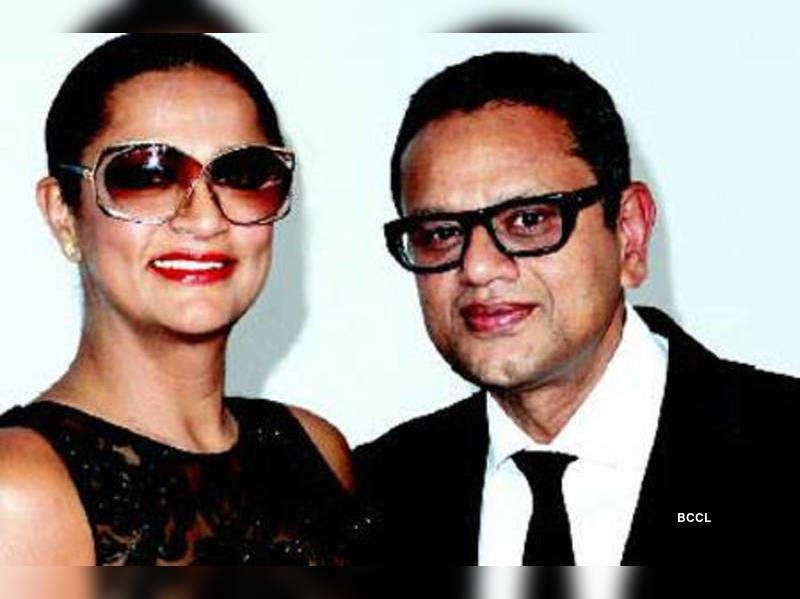 Naeem Khan with wife Ranjana Khan, who is a jewellery designer