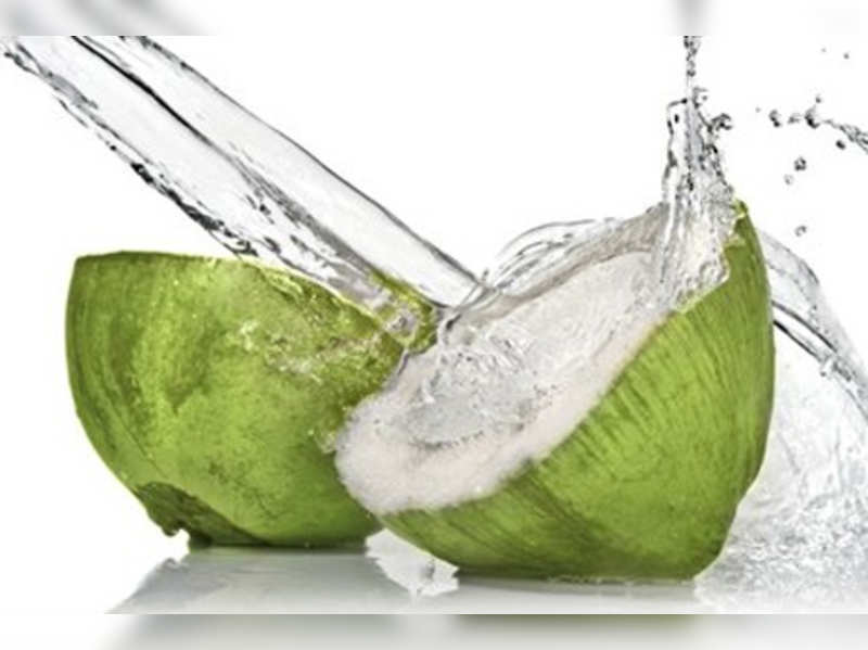 Drink coconut water for glowing skin