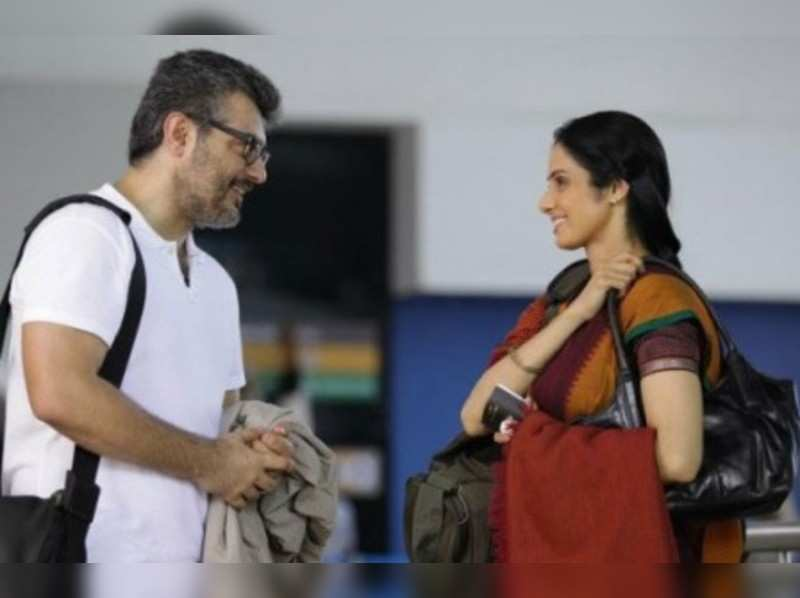 Sridevi eager to pair up with Ajith