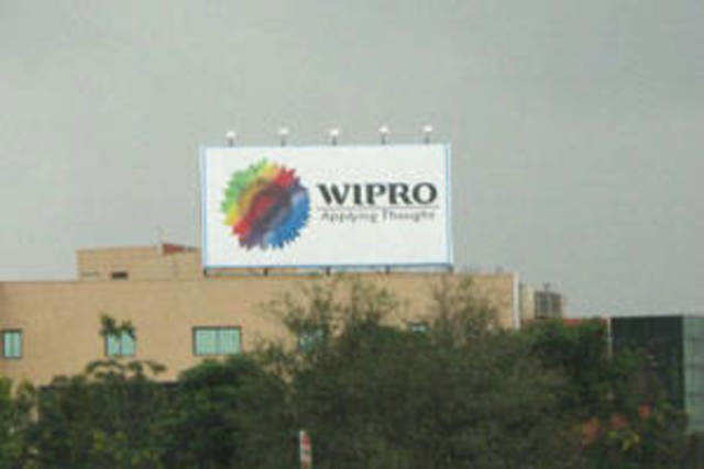 Wipro , India's third-largest software services provider, reported a 16.7 per cent rise in quarterly profit.