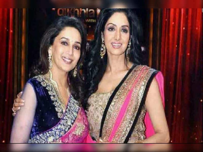 Madhuri and Sridevi