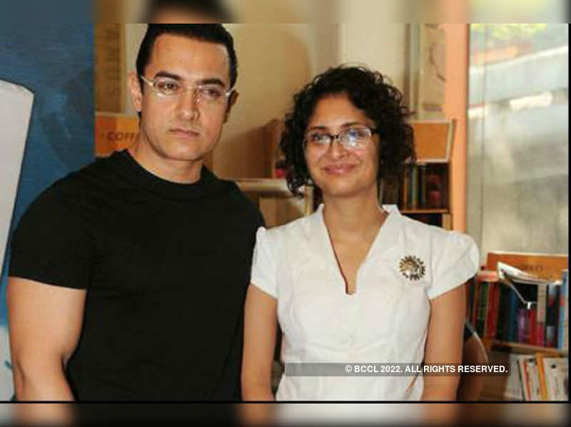 "Kiran Rao with Aamir Khan <a href=""//photogallery.indiatimes.com/celebs/indian-stars/aamir-khan/portfoliolist/3879094.cms"" target=""_blank"">More Pics</a>"