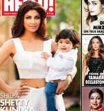 Shilpa, son Viaan grace mag