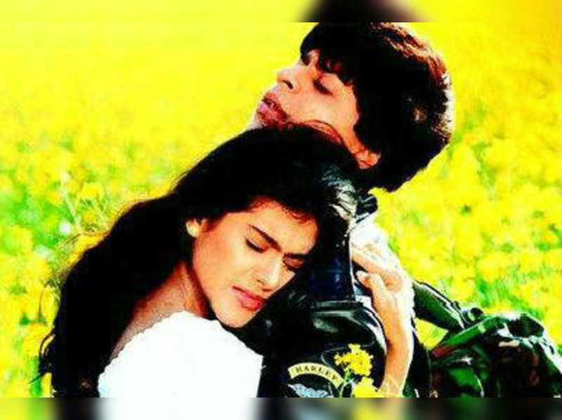"""A still from the movie <a href="""" http://photogallery.indiatimes.com/celebs/indian-stars/shah-rukh-khan/movie-stills/dilwale-dulhaniya-le-jayenge/articleshow/4313057.cms"""" target=""""_blank"""">More Pics</a>"""