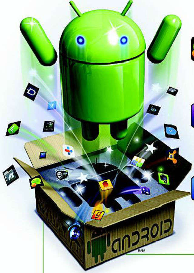Most Android phones come with some basic apps: Twitter, Facebook, Skype, WhatsApp, Dropbox, Chrome, etc.