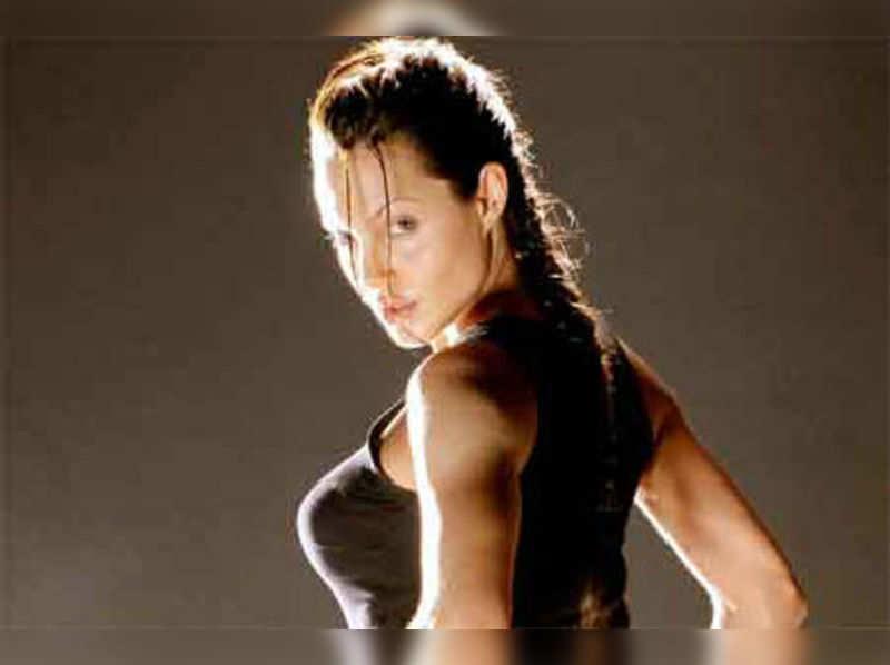 Angelina Jolie Angelina Jolie Tomb Raider To Cancer Crusader