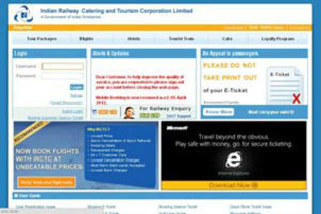 IRCTC spelt out its grand plan to book 7200 e-tickets per minute in the current fiscal.