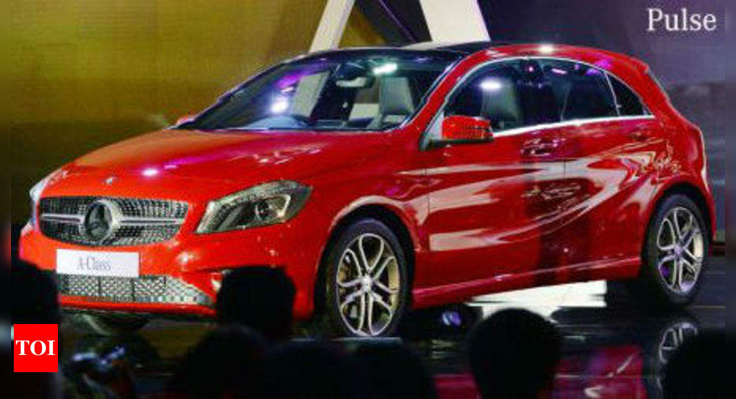 Mercedes Benz drives in A-Class hatchback at Rs 22L - Times of India