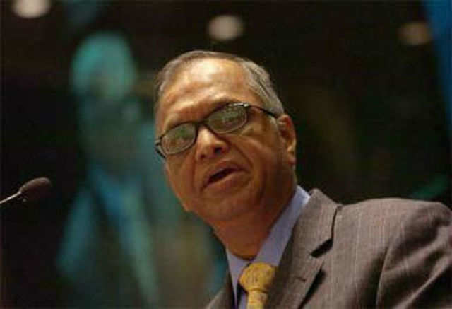 """""""Infosys is my middle child. Therefore, I have put aside my plans-in-progress and accepted this responsibility,"""" Narayana Murthy said."""