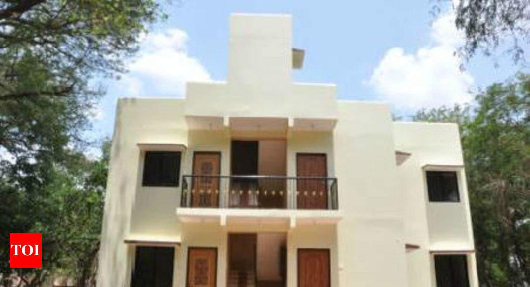IIT-Madras engineers showcase low-cost housing model