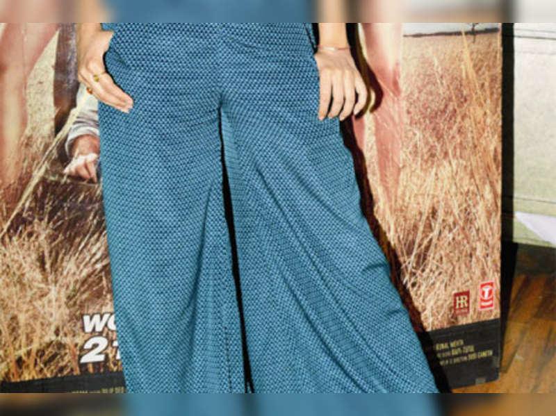 Palazzo pants make an impact